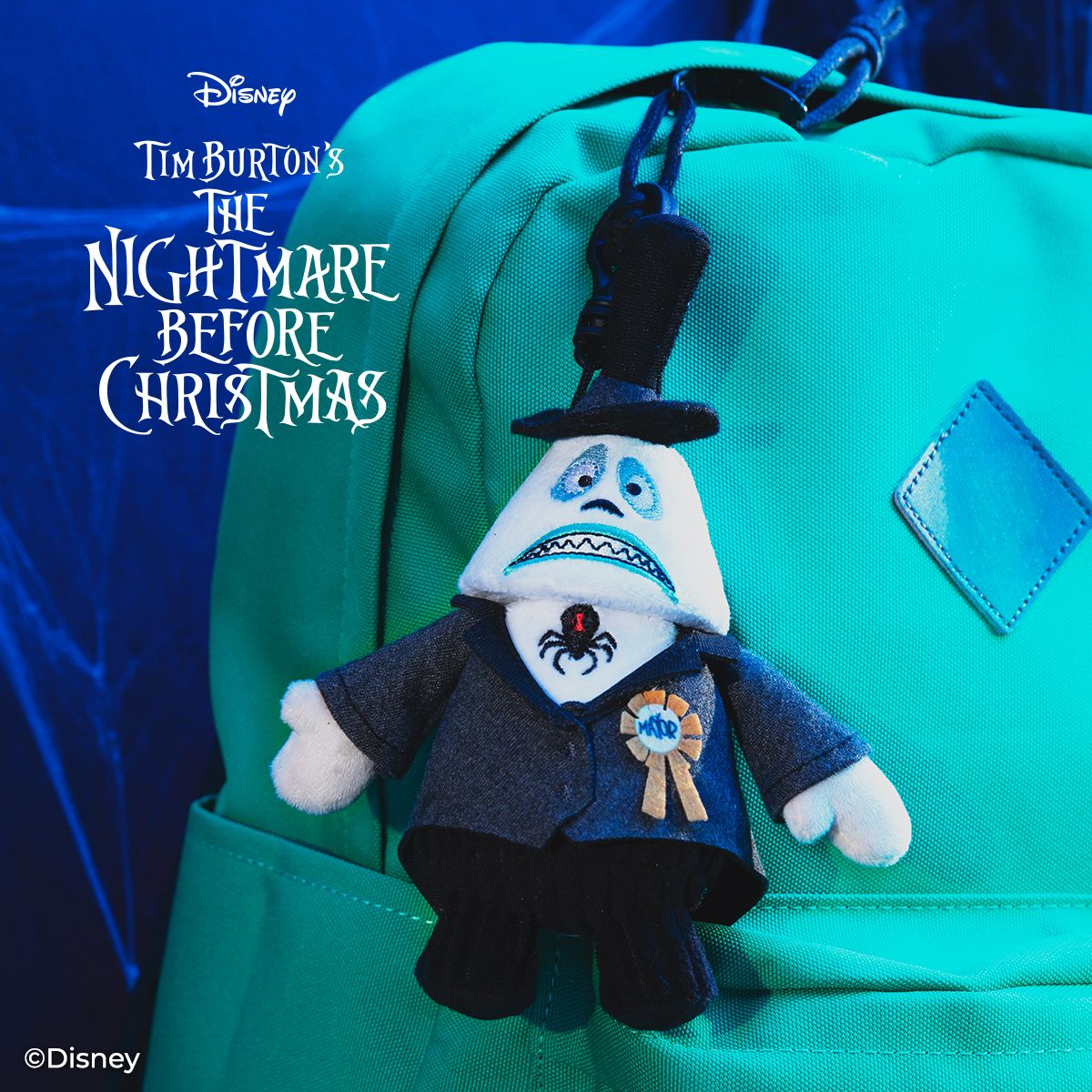The Mayor Scentsy Buddy Clip The Nightmare Before Christmas