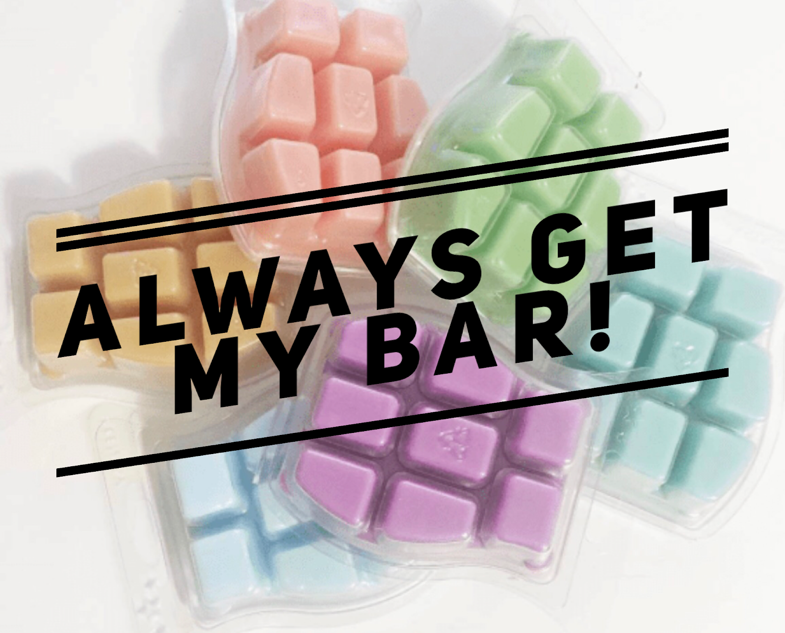 always get my bar scentsy