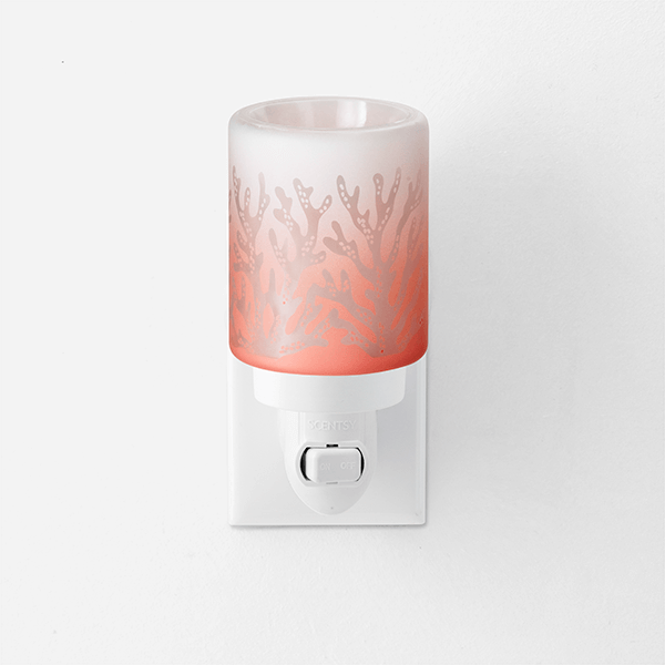 Red Sea Coral Scentsy Mini Warmer with Wall Plug