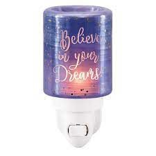 Believe in Your Dreams Scentsy Mini Warmer with Wall Plug