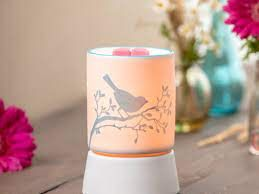 Bluebird Mini Scentsy Warmer with Tabletop Base