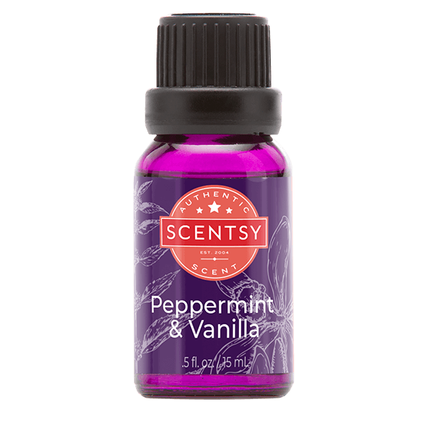 Peppermint & Vanilla Scentsy Natural Oil Blend