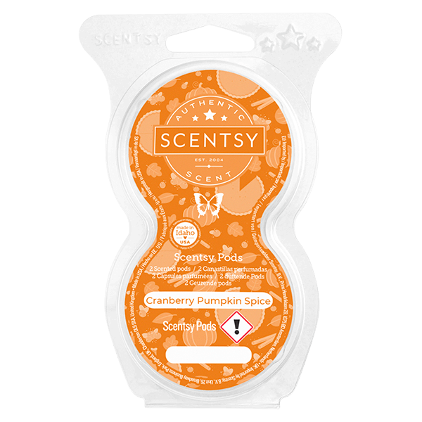 Cranberry Pumpkin Spice Scentsy Pod Twin Pack