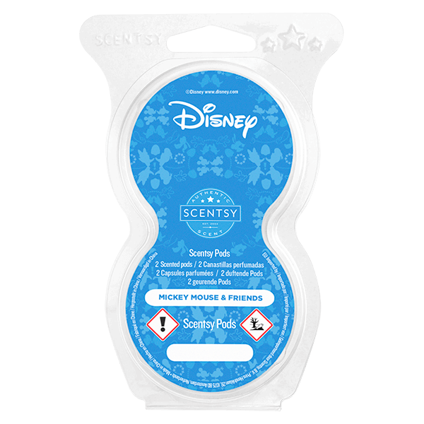 Disney Mickey Mouse & Friends Scentsy Pod Twin Pack