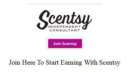 join here to start earning with scentsy - wick free scented candles