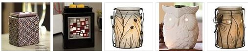 scentsy warmers wick free candle
