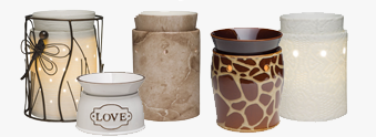 scentsy-warmers wickfree scented candle