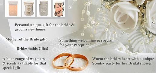 scentsy wedding reception and gift ideas