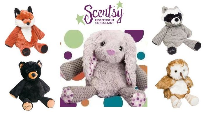 scentsy buddy teddy scented gift