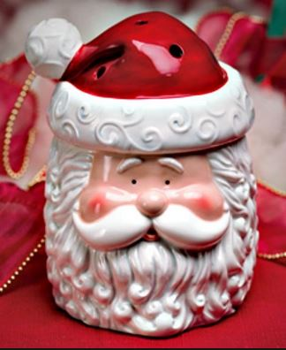 st nick santa scentsy wick free candle warmer