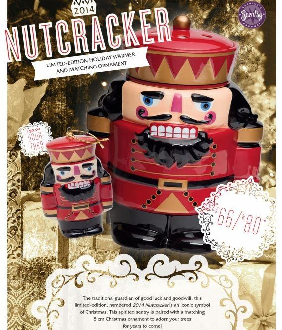 nutcracker limited edition collectible scentsy