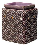 scentsys WICK FREE SCENTED CANDLE warmer amethyst deluxe