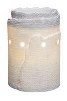 edge scentsy WICK FREE SCENTED CANDLE warmer DELUXE