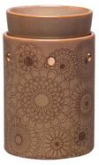 scentsy WICK FREE SCENTED CANDLE warmer HENNA DELUXE
