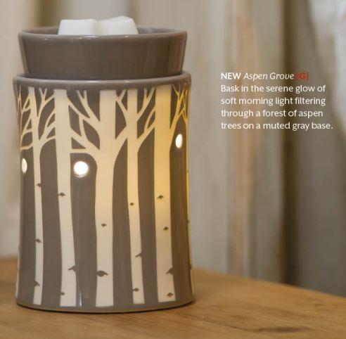 aspen grove candle scents scentsy wickfree warmer premiun