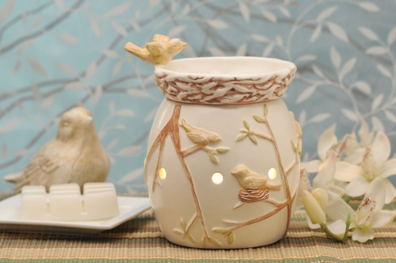 natures heaven wickfree scentsy warmer candle wax scents  premium buy shop wickless
