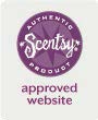 website approval logo scentsy
