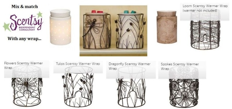 Silhouette core scentsy wickfree candle warmers travertine etched