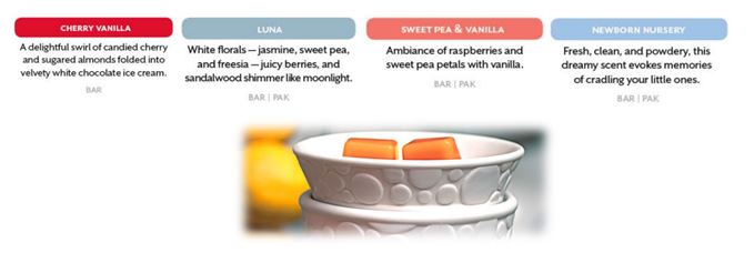 example customer favourites scentsy scented wax fragrances