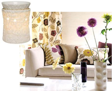 vine room design idea scentsy floral