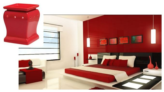 room design idea scentsy RED FLARE