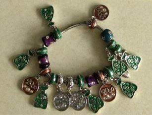 awards charm bracelet scensty