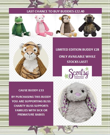 updated buddies uk scentsy