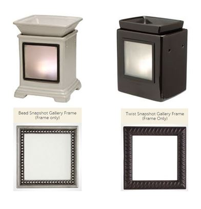 gallery warmer and snapshot frame scentsy