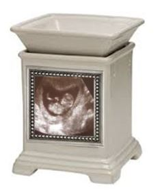 cream classic gallery scentsy warmer and snapshot fram