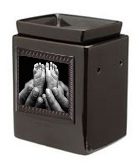 ebony cube gallery warmer and snapshot frame