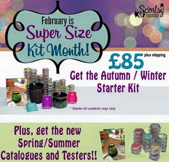 supersize kit in feb 2015 scentsy