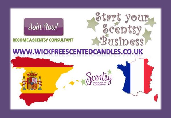 become a scentsy consultant france and spain