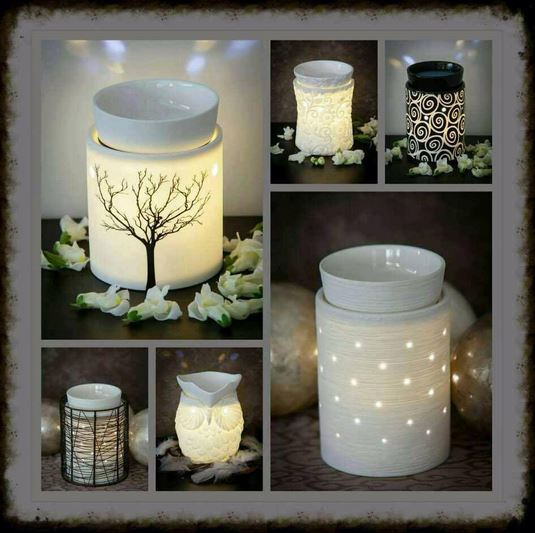 scentsy warmer light examples