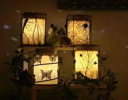 glowing silhouette scentsy warmers
