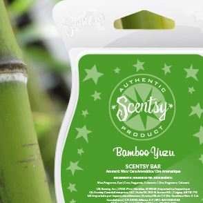 bamboo New uk scentsy fragrance wick free candle wax bars