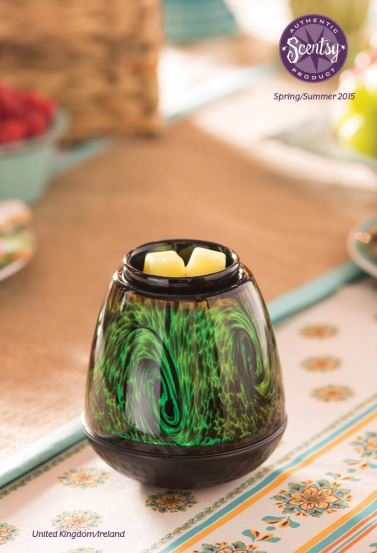 official brochure spring summer 2015 Scentsy fragrance wick free scented candle warmer Buy Scentsy online UK ireland