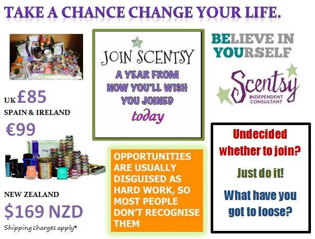 Join scentsy UK IRELAND SPAIN NEW ZEALAND