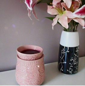 crackling rose scentsy warmer