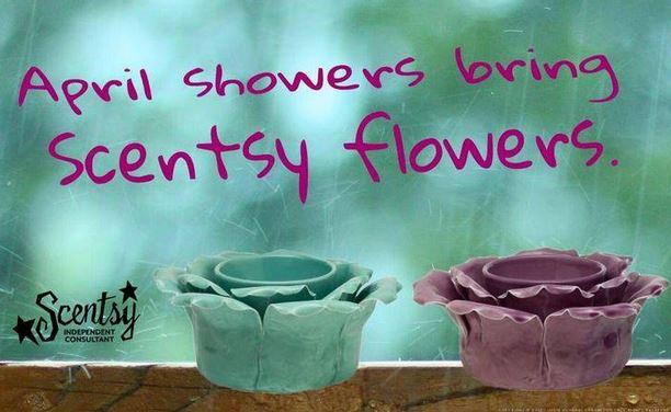 petal warmer scentsy
