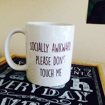 Socially Awkward Mug