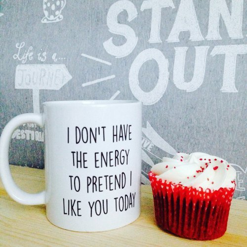 I Don't Have The Energy Mug