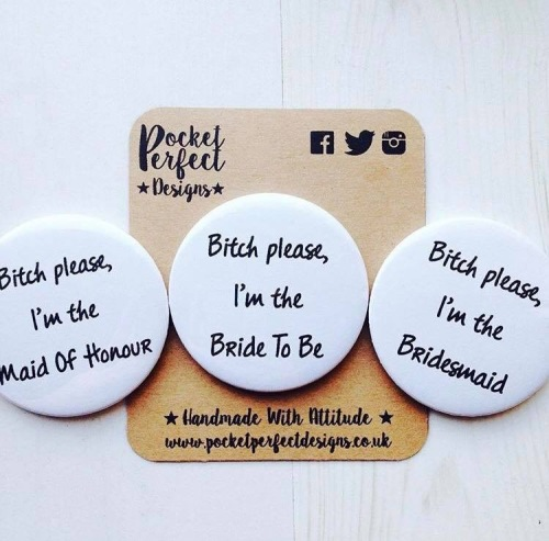 Bride To Be/Bridesmaid/Maid Of Honour Mirror