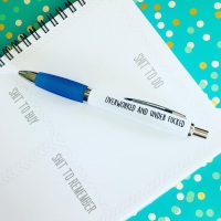 Overworked Pen
