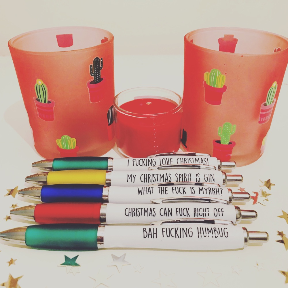 Xmas Pen Pack Of 5