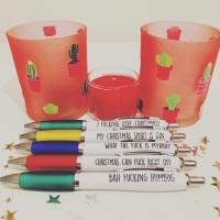 Xmas Pen Pack Of 5