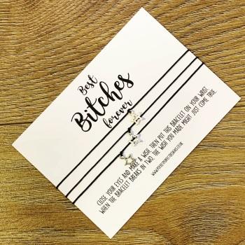 Best Bitches Wish Bracelet - 3 pack