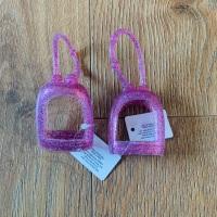 Pink Sparkly Holder x1