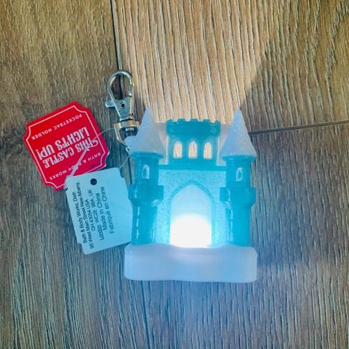 Castle Light Up Hand Sanitiser Holder