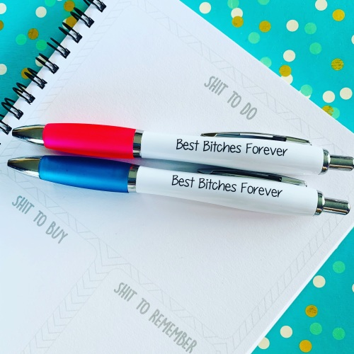Best Bitches Pack Of 2 Pens