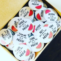 Pack Of 30 Melon Magnets - Class Gift